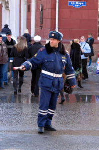 GAI or Russian Traffic Police