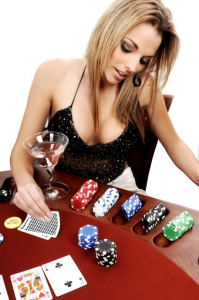 female-poker